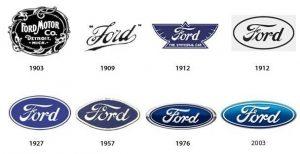 تاریخچه لوگوی فورد