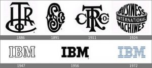 تاریخچه لوگوی IBM