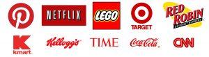 لوگوهای قرمز معروف جهان