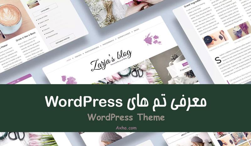 تم های wordpress