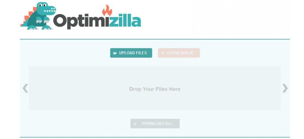 Optimizilla چیست بهینه سازی تصاویر