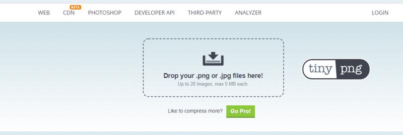 TinyPNG چیست بهینه سازی تصاویر