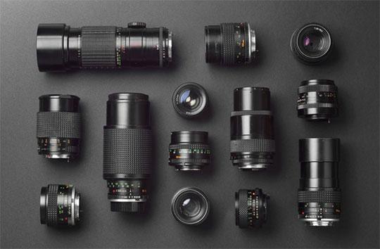 انواع لنز دوربین و لنز عکاسی