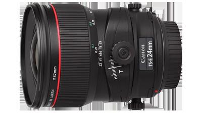 انواع لنز دوربین لنز تیلت شیفت