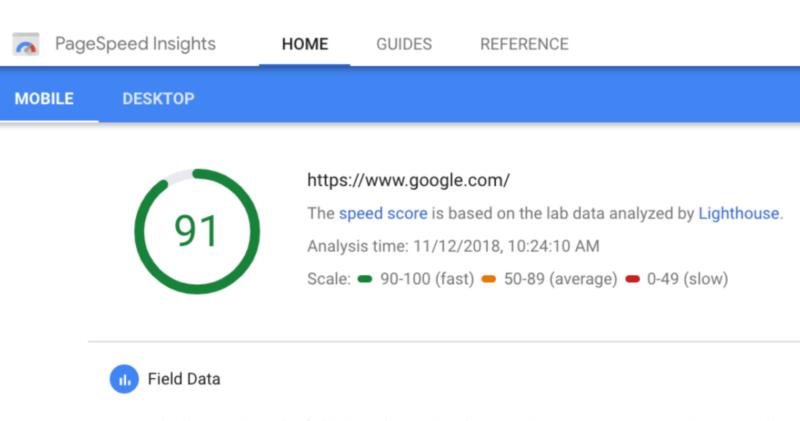 PageSpeed Insights چیست افزایش سرعت سایت